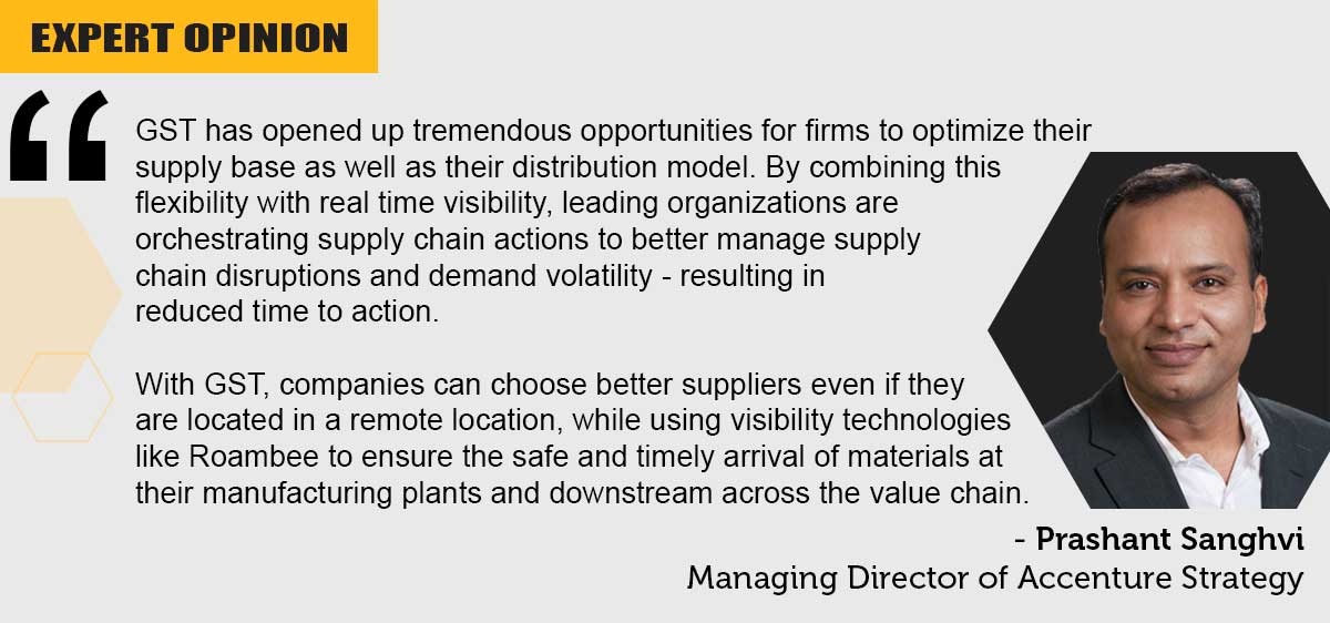 Managing Director Accenture opinion on GST
