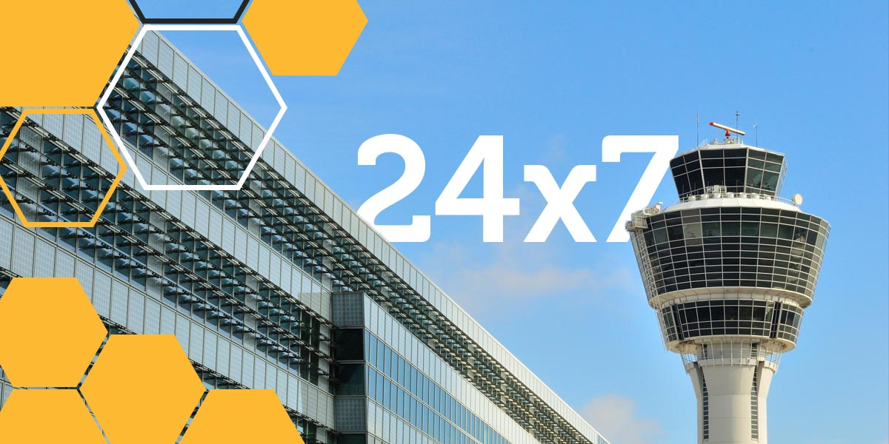 24x7 Logistics Control Tower