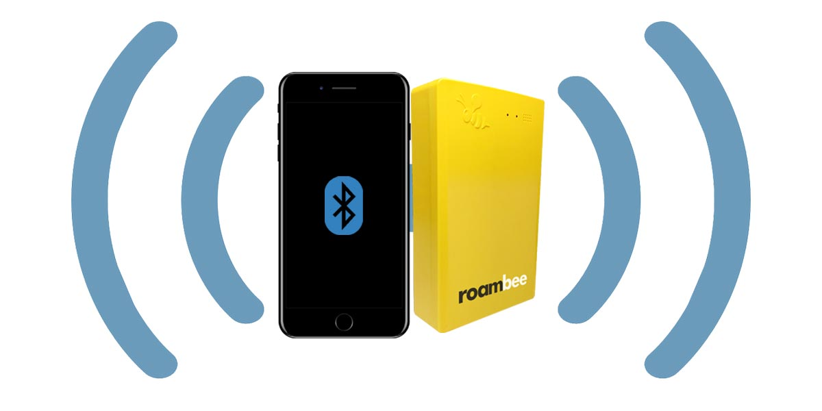 GPS, GSM, BLE, Wifi, Hotspot gateway Roambee