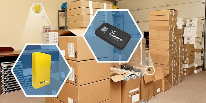Bluetooth Low Energy BLE Beacons for Warehousing Logistics