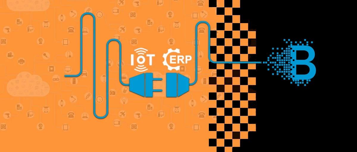 Supply Chain ERP IoT Blockchain Integration